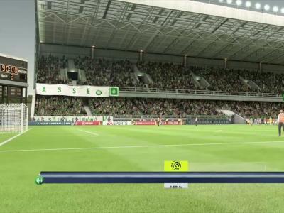 ASSE - Angers SCO sur FIFA 20 : résumé et buts (L1 - 34e journée)