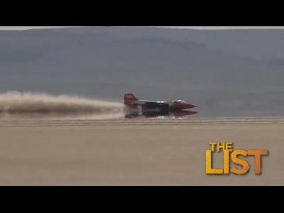 Le record de vitesse féminin sur lac salé en vidéo