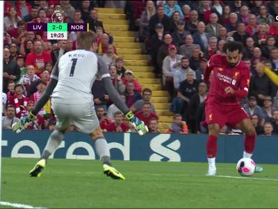 Liverpool - Norwich : Mohamed Salah ouvre déjà son compteur de buts !