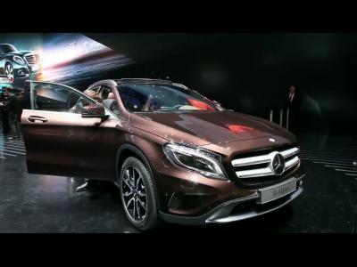 Francfort 2013 - Mercedes GLA