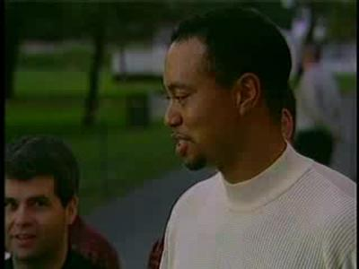 Tiger Woods et la Buick Velite