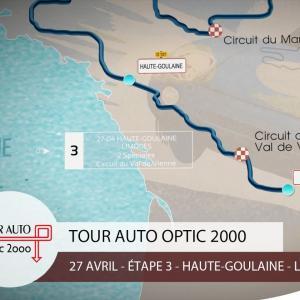 Tour Auto | Étape 3 : Haute-Goulaine - Limoges
