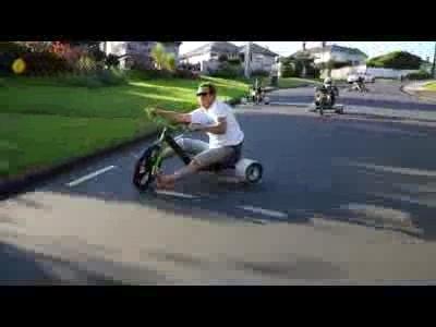 Le Trike Drifting, nouveau sport extrème