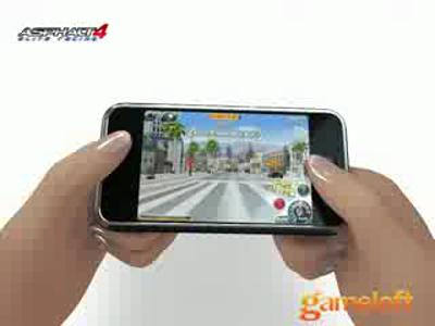 Asphalt 4 Elite Racing sur iPhone