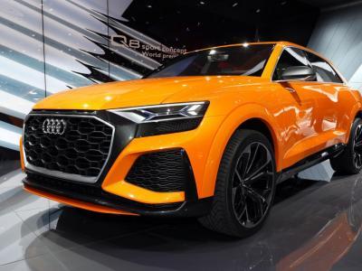 Audi Q8 : suivez la présentation du SUV coupé en direct