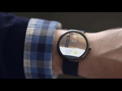 Android Wear : la montre connectée de Google