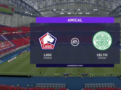 LOSC - Celtic : notre simulation FIFA 21 (2ème journée - Europa League)