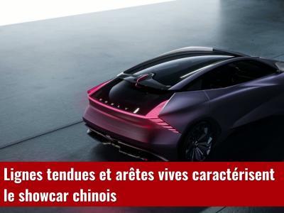 Geely Vision Starburst : le concept-car chinois en vidéo