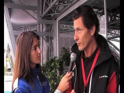24H du Mans - Interview Patrice Franke (Audi France)