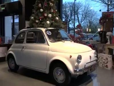 Fiat nous invite pour un «Surprenant Noël» au Motorvillage