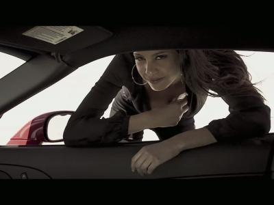 Chloé Mortaud, sexy pour Exotics Racing