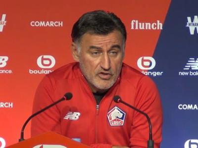 OGC Nice - Lille : Galtier ne veut pas s'enflammer pour son équipe !