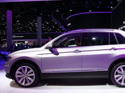 Francfort 2015 : Volkswagen Tiguan 2