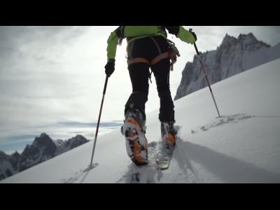 Ski touring au massif du Mont-Blanc