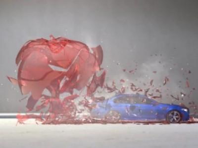 BMW M5 rapide comme une balle