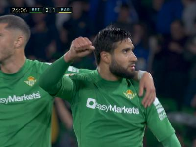 La Liga - Betis Séville : Fekir fait vaciller le Barça !
