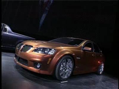 Pontiac G8 GXP, Solstice Coupe, et G8 Sport Truck