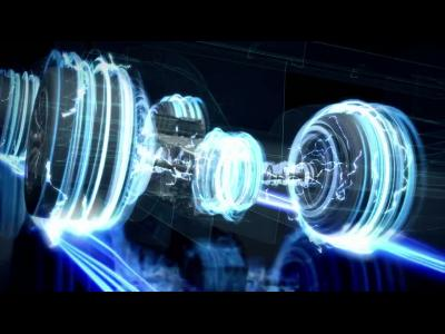 La propulsion hybride de la Toyota TS040 illustrée