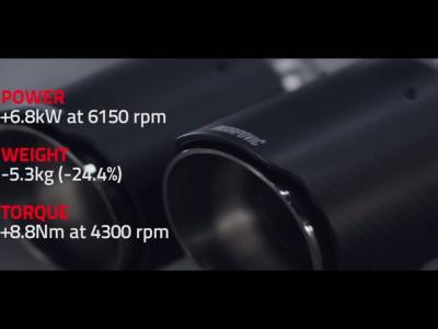 Akrapovic magnifie les vocalises de la BMW M2