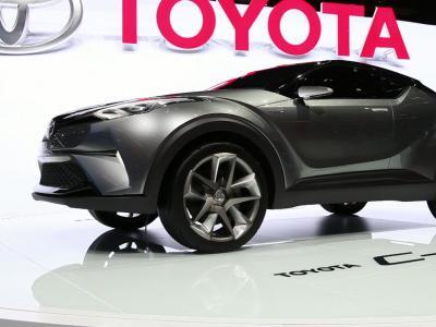 Francfort 2015 : Toyota C-HR Concept