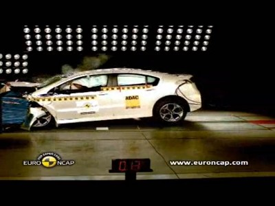 Crash test : Opel Ampera