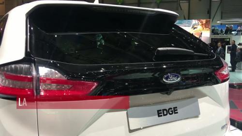 Le Ford Edge restylé en vidéo depuis le salon de Genève
