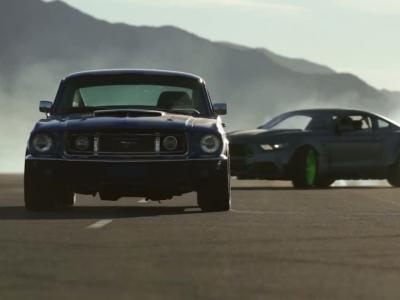 Quand les meilleurs pilotes de drift fêtent 50 ans de Ford Mustang