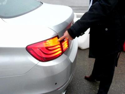 BMW contrôle à distance du parking