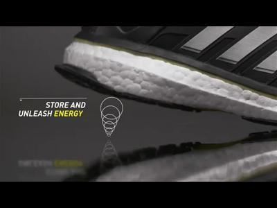 Adidas Energy Boost, une nouvelle technologie d'amorti.