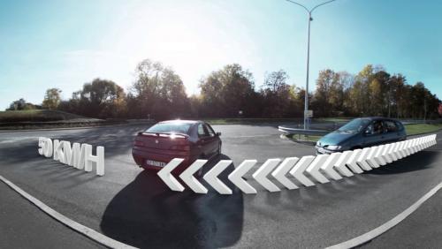 Voici à quoi ressemble un crash en vue à 360°