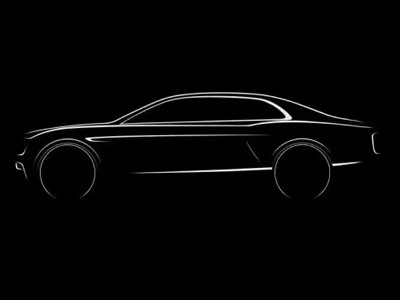 Teaser Bentley Flying Spur 2014
