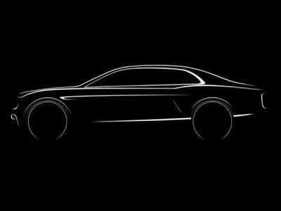 Teaser Bentley Flying Spur 2014