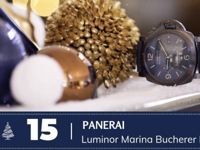 #15 Panerai Luminor Marina Bucherer Blue