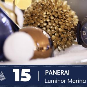 #15 Panerai Luminor Marina Bucherer Blue