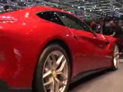 Genève 2012 : Ferrari F12 Berlinetta