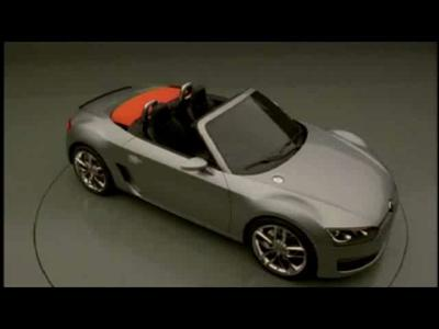 Reportage Volkswagen BlueSport Concept