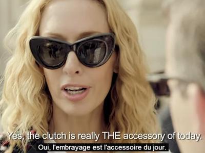 Quand l'embrayage devient un accessoire à la mode