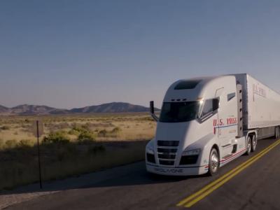 Nikola One : le camion à hydrogène qui veut battre le Tesla Semi en vidéo