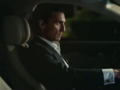 Matthew McConaughey mène le jeu à bord de sa Lincoln