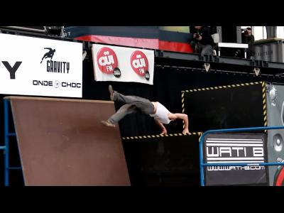 Xtreme Gravity Europe 2014 : étape de freerun