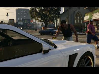 GTA 5 : le trailer d'annonce sur Xbox One, PS4 et PC
