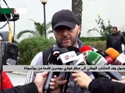 La réponse de Belmadi quand un journaliste lui reparle d'Aouar