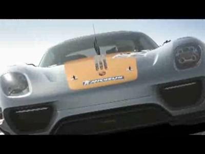 Détroit 2011 : Porsche 918 RSR