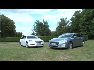 Match Peugeot 508 SW 2.0 HDI140 / Opel Insigna Sports Tourer 2.0 TDCI 160