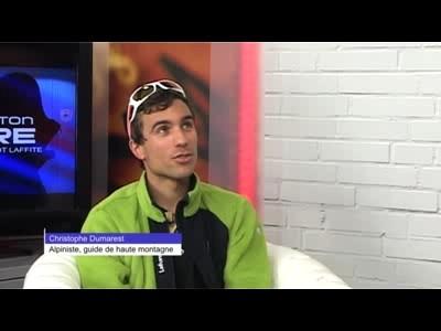 Interview Christophe Dumarest, alpiniste
