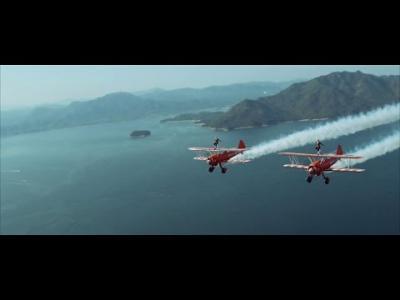 Vidéos : Premier vol pour les Wingwalkers au Japon