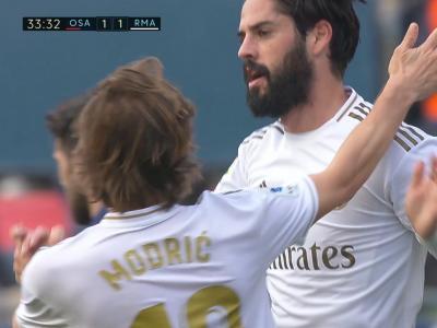Real Madrid : Isco, une belle volée et enfin un but !