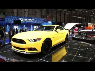 Genève 2014 : Ford Mustang