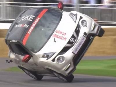 Le Nissan Juke Nismo RS bat un record de deux roues !
