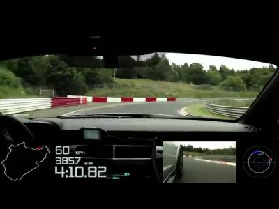 Un tour du Nürburgring en Chevrolet Camaro Z28